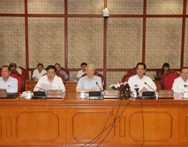 Bộ Chính trị cơ bản nhất trí phương án nhân sự Đảng bộ Hà Nội khóa mới