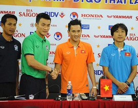 """Thái Lan """"thách"""" đội tuyển Việt Nam chơi đôi công"""