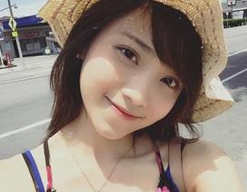 Nữ DHS xinh đẹp làm MC truyền hình Việt tại Mỹ