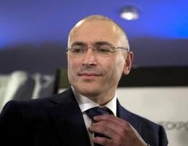 """""""Vua dầu lửa"""" Mikhail Khodorkovsky bị buộc tội giết người"""