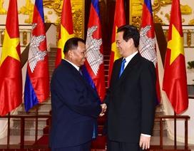 Thủ tướng: Xây dựng biên giới Việt Nam – Campuchia thực sự là đường biên giới hòa bình