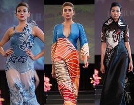 Những mẫu thiết kế - những sắc màu Việt Nam trên sân khấu Mỹ