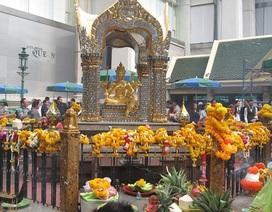 Đền Erawan vẫn hút du khách sau vụ đánh bom