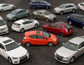 Toyota cán mốc doanh số 8 triệu xe hybrid