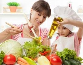 Lợi ích tuyệt vời khi cho trẻ vào bếp cùng mẹ