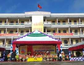 50 năm thành lập, THPT Trực Ninh nhận bằng khen Thủ tướng Chính phủ