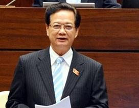 """Thủ tướng trả lời chất vấn của đại biểu từng """"truy"""" Bộ trưởng Thăng"""