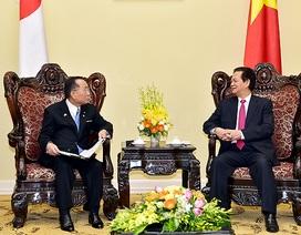 Thủ tướng, Chủ tịch Thượng viện Nhật chia sẻ lập trường về Biển Đông
