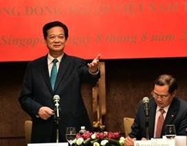 Thủ tướng gặp gỡ đại diện cộng đồng người Việt tại Singapore
