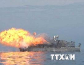 Yonhap: Triều Tiên tuyên bố vùng cấm tàu thuyền để thử tên lửa
