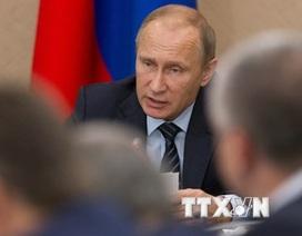 Tổng thống Putin: Chiến dịch ở Syria cho thấy sức mạnh của Nga