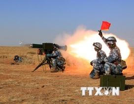 Trung Quốc: Tập trận hỗn hợp bước vào giai đoạn bắn đạn thật