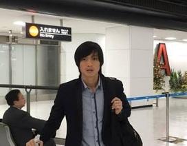 Tuấn Anh tập luyện ngay khi tới Nhật Bản