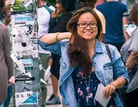 """Nữ sinh giành học bổng ĐH Mỹ: """"Đi du học giống như tìm… người yêu"""""""