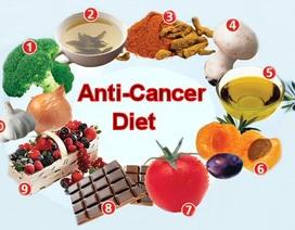 Các hoạt chất giúp phòng ngừa ung thư