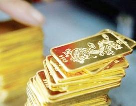 Vàng SJC tiếp tục đi xuống, USD giữ giá