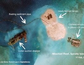 Trung Quốc bị chỉ trích mạnh mẽ về hành động bồi lấn tại Biển Đông