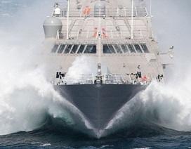 """Hải quân Mỹ háo hức đón """"nữ thần tốc độ"""" mới"""