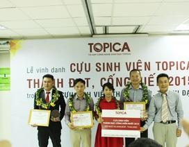 Vinh danh Cựu sinh viên Topica thành đạt, cống hiến năm 2015