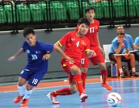 Thắng đậm Philippines 19-1, đội tuyển futsal nam Việt Nam tiến vào bán kết
