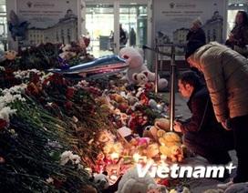 Tưởng niệm nạn nhân thảm họa máy bay Airbus A321 tại Nga