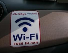 Tôi đi taxi miễn phí Wi-Fi đầu tiên tại Hà Nội