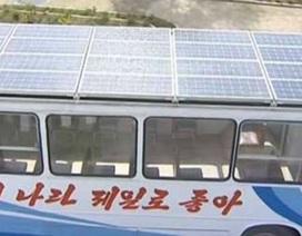 Triều Tiên sử dụng xe buýt năng lượng mặt trời