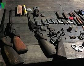 Bắt giữ đối tượng lập xưởng chế tạo súng, đạn ở Quảng Ninh
