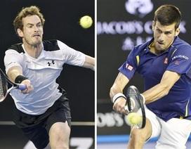 Đường tới chung kết của Djokovic và Murray
