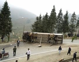 Hai ô tô tông nhau trên đường lên Sa Pa, 1 người chết, 4 người trọng thương