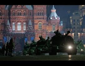 Dàn vũ khí Nga trong lễ tổng duyệt kỷ niệm Ngày Chiến thắng