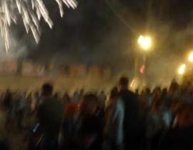 Pháo hoa rơi trúng đám đông ở Nga, 1 người chết, 10 người bị thương