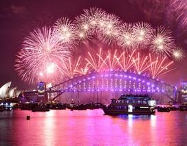 Chiêm ngưỡng màn bắn pháo hoa mãn nhãn chào năm mới của Australia
