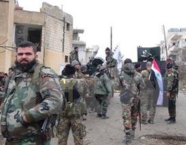 Quân đội Syria giải phóng hoàn toàn Qaryatain