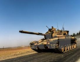 Xe tăng Thổ Nhĩ Kỳ tiếp tục tràn qua Syria theo ngả Kilis
