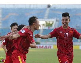 Trọng Hoàng nói gì khi trở thành người hùng của đội tuyển Việt Nam?