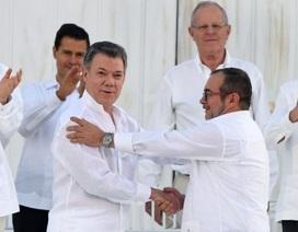 Colombia ký thỏa thuận hòa bình lịch sử, chấm dứt nội chiến kéo dài hơn 50 năm