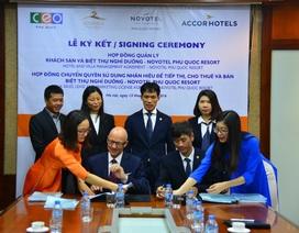 CEO Group tiếp tục lựa chọn Tập đoàn Accor quản lý khu biệt thự nghỉ dưỡng 5 sao Sonasea Villas