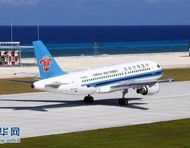 Trung Quốc lại đưa máy bay trái phép ra Trường Sa
