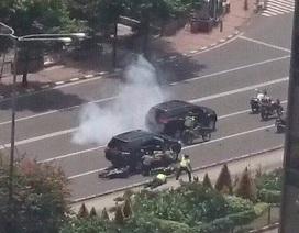 Nổ liên hoàn, đấu súng gây chấn động thủ đô của Indonesia, 7 người chết