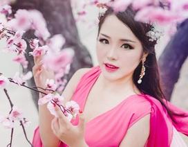 """Thiếu nữ Hà thành hóa thân thành """"Thái tử phi"""" xinh đẹp"""