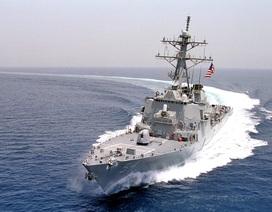 Vì sao Mỹ bất ngờ điều tàu chiến tuần tra ở Hoàng Sa?