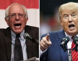 Trump, Sanders thắng áp đảo tại New Hampshire