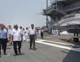 Mỹ-Ấn nhất trí chia sẻ hậu cần quân sự để đối phó Trung Quốc
