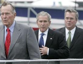 Cha con nhà Bush không ủng hộ Donald Trump tranh cử