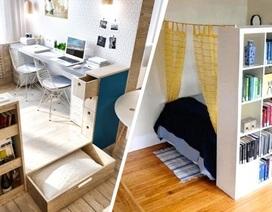 Tuyệt chiêu biến căn hộ nhỏ hẹp trở nên rộng rãi hơn