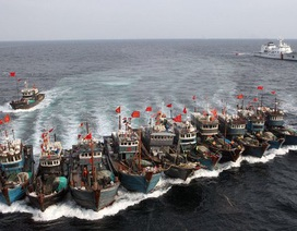 """Mỹ """"tố"""" Trung Quốc dùng tàu cá để thúc đẩy đòi hỏi chủ quyền"""