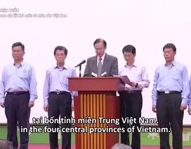 Clip lãnh đạo Formosa cúi đầu xin lỗi Nhà nước và Nhân dân Việt Nam