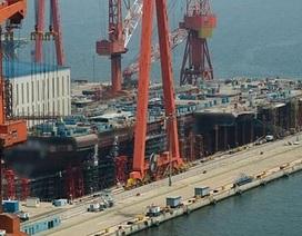 Quan chức Trung Quốc tiết lộ về tàu sân bay tự chế tạo