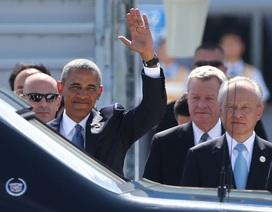 Trung Quốc đón các lãnh đạo quốc tế về dự hội nghị G20
